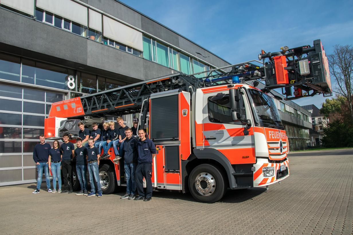 JF-Brandau zu Gast bei der BF Frankfurt