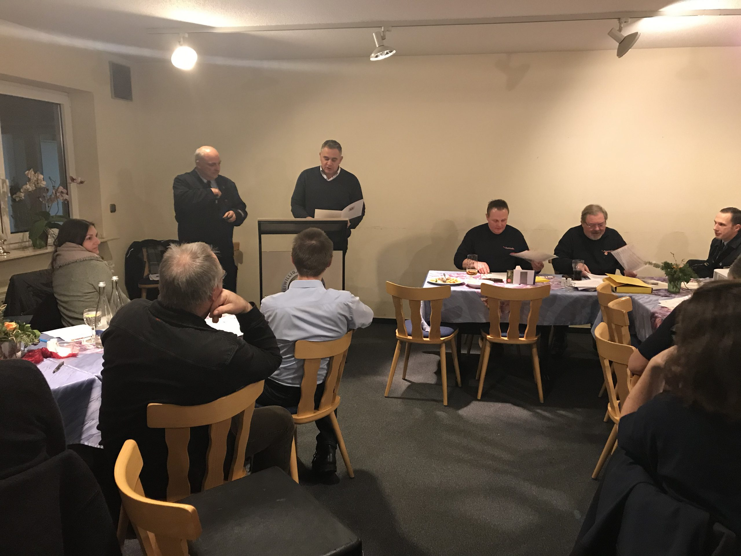 Rückblick auf das Berichtsjahr 2019 der Freiwilligen Feuerwehr Brandau